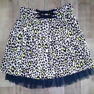 Disney Cheetah Print Skirt